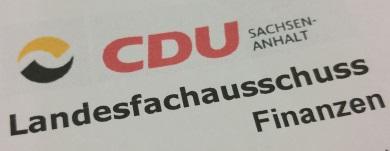 CDU Landesfachausschuss Finanzen