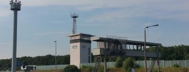 Ein Teil der Gedenkstätte Deutsche Teilung Marienborn