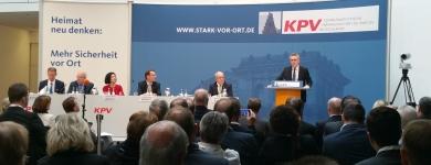 Diskussionsrunde der KPV