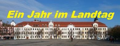 Ein Jahr im Landtag