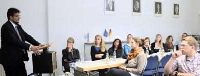 Gesprächsrunde mit Stipendiaten der Konrad-Adenauer-Stiftung