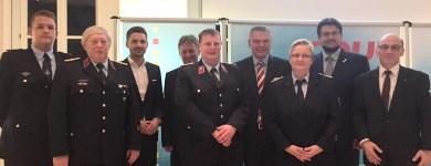 Ehrung von Mitgliedern der Freiwilligen Feuerwehren Magdeburg durch die CDU-Fraktion im Landtag von Sachsen-Anhalt