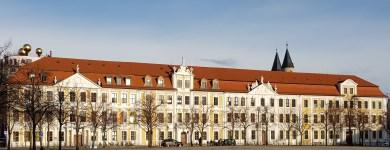 Der Landtag in der Wintersonne