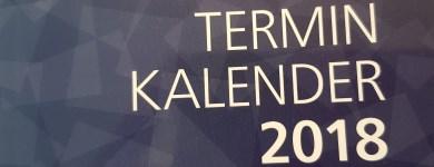 Voller Terminkalender auch in 2018