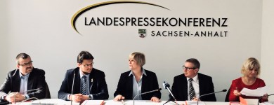 Pressekonferenz des DGB Sachsen-Anhalt zu den aktuellen Betriebsratswahlen