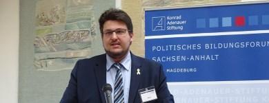 Rede beim Extremismus-Kongress des politischen Bildungsforums der Konrad-Adenauer-Stiftung Sachsen-Anhalt