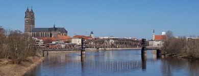 Frühlingsbeginn in Magdeburg