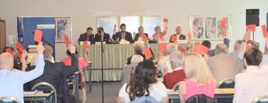 Abstimmung beim Kreisparteitag der CDU Magdeburg