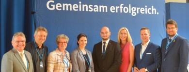 Die Magdeburger Delegierten auf der Landesvertreterversammlung