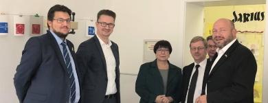 Zu Besuch in der Volkshochschule Erfurt