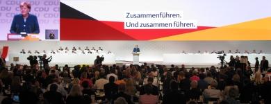 31. Bundesparteitag der CDU Deutschlands in Hamburg