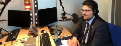 ON AIR beim Radiointerview