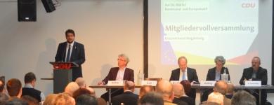 Mitgliederversammlung der CDU Magdeburg