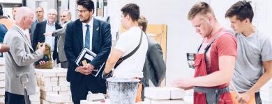 Besuch des Bau-Bildung-Zentrum Magdeburg