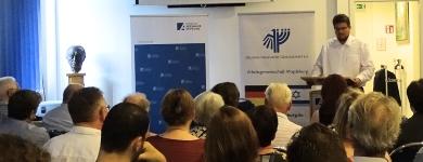 """Grußwort bei der Lesung """"Israel-Momente seiner Biografie"""""""
