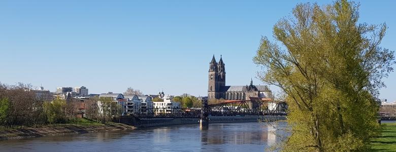 Domblick von der Sternbrücke