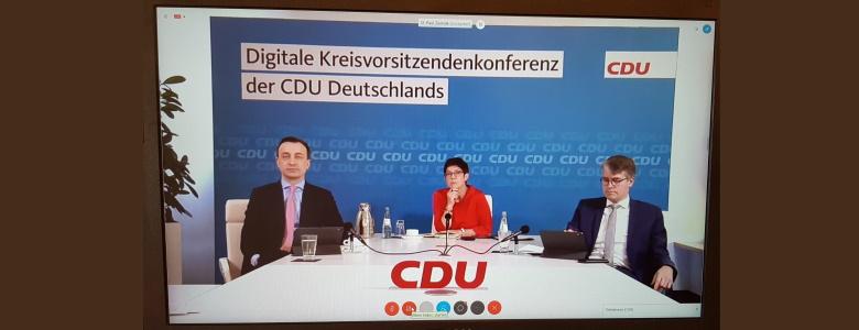 Digitale Kreisvorsitzendenkonferenz