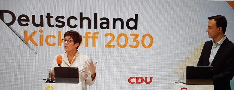 Kickoff 2030 der CDU