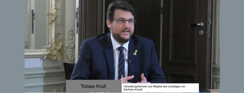 Screenshot vom Ökumenischen Neujahrsgespräch