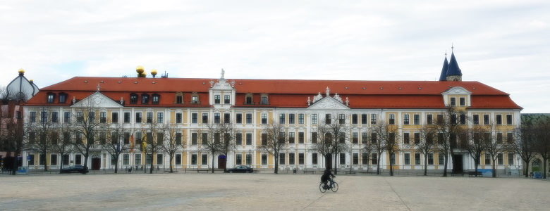 Sitz des Landtags am Magdeburger Domplatz