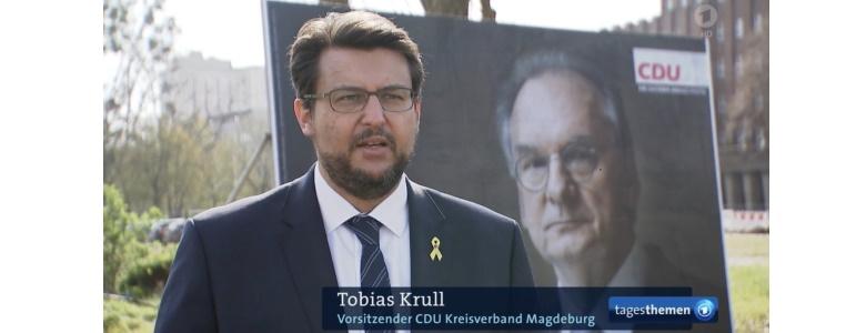 Screenshot ARD Tagesthemen vom 20. April 2021