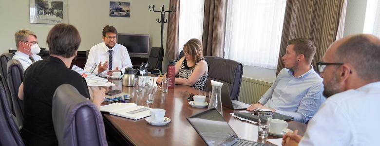 Sitzung der AG Arbeit, Soziales und Integration