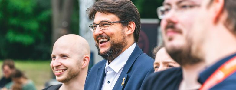 Momentaufnahme beim E-Sport Sommerfest (Foto Maria Maria Manneck