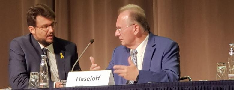 Im Gespräch mit dem Ministerpräsidenten Dr. Reiner Haseloff MdL